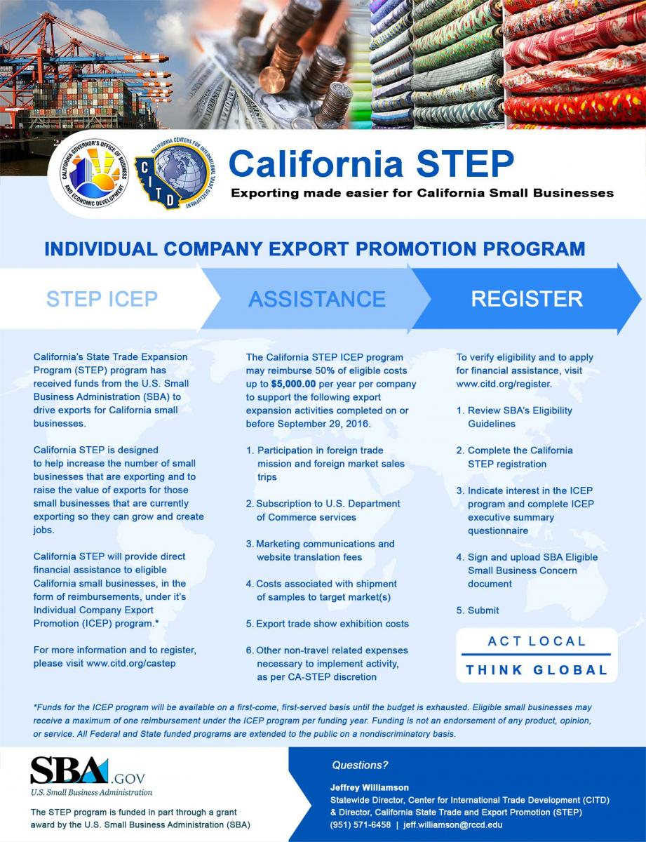 Thumbnail Image For California STEP Program